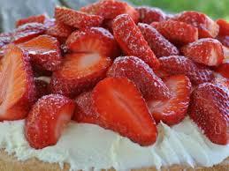erdbeer torte mit rhabarber einfache organisation rezepte