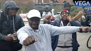 West Indies People In London Demonstrating DJ BRAVO Champion Dance