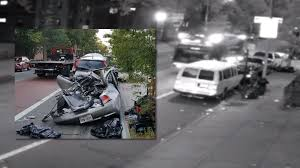100 Garbage Truck Accident Sleeping Driver Smashes Into 13 Parked Cars In