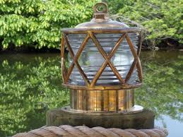 nautical outdoor lighting and dock lighting with coastal style