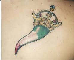 Italian Horn Crown Tattoo Picture At CheckoutMyInk