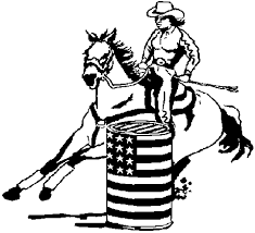 Coloring Pages Of Horses Barrel Racing Images Amp Pictures
