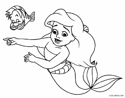 Winsome Ideas Mermaid Coloring Sheets Printable Pages For Kids