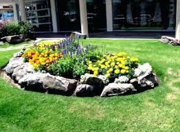 Flower Landscape Ideas Wonderful Green Landscaping For Front Yard Beds Garden Design