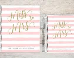 Custom Wedding Planner Keepsake Planning Guide Book Bride