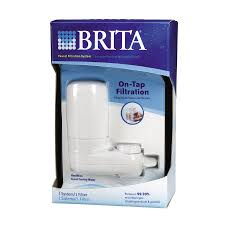 Brita Faucet Mounted Water Filters by Shop Brita 2 Faucet Mount Replacement Filter At Lowes Com