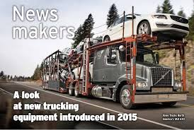 100 North American Trucking Looking Back At The News Makers Of 2015