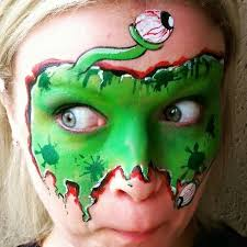 162 Best Halloween Inspiration Images by 162 Best Face Paint Monster Ideas Images On Pinterest Halloween