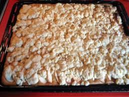 apfel und birnenkuchen mit streusel vom blech