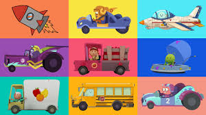 CARTOONS FOR KIDS ☆ Cars, Trucks, Planes And More! ☆ Vehicle ...