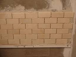 how to tile a wall step by build shower curb building floor walls