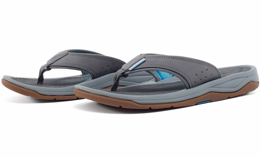 Grundens Deck Boss Sandal - Monument Grey - 14