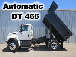 100 Contractor Truck 2009 INTERNATIONAL DIESEL DT466 AUTOMATIC 10FT CONTRACTOR DUMP BED
