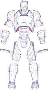 Long Halloween Batman Pdf by Eva Foam Batman Wearable Mech Armor Suit Pdf Pdo Templates