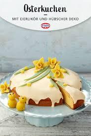 osterkuchen mit eierlikör