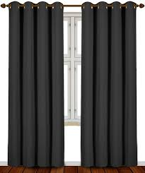 Sound Reducing Curtains Amazon by Amazon Com Utopia Bedding 52 Inch Wide X 84 Inch Long Blackout