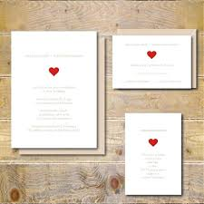 New Simple Wedding Invitation Ideas And Invitations Rustic Heart Country
