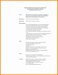 Sales Associate Job Description Resume Templates Examples Inspirational For Retail