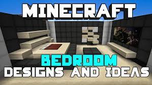 minecraft bedroom ideas pe xbox house furnishing tutorial youtube
