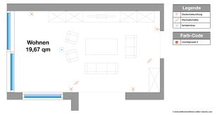 elektroinstallation wohnzimmer planen beleuchtung mehrere
