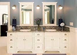 Vanity Furniture For Bathroom by Best 25 White Bathroom Cabinets Ideas On Pinterest Master Bath