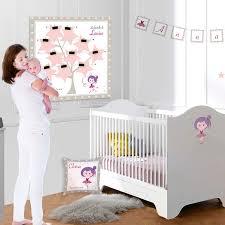 chambre de danseuse chambre et décoration thème danse moderne pour bébé fille