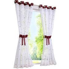 eslir gardinen mit ösen vorhänge transparent wohnzimmer