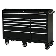 100 Service Truck Tool Drawers Montezuma 56 In 11Drawer Box In BlackBK5611TC The Home Depot
