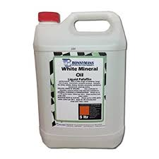clear white mineral oil liquid paraffin 5 litres amazon co uk