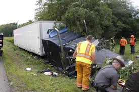 100 Portville Truck Two Men Die On The Road In Carrollton As One Crashes Into Ditch On