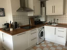 ikea küche abstrakt hochglanz weiß zustand