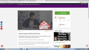 Udemy Coupon Codes And Discounts For All Courses Free Video Course Promotion For Udemy Instructors To 200 Students A Udemy Coupon Code Blender 3d Game Art Welcome The Coupons 20 Off Promo Codes August 2019 Get Paid Courses Save 700 Coupon Code 15 Hot Coupons 2018 Coupon Feb Album On Imgur Today Certified Information Security Manager C Only 1099 Each Discount Up 95 Off Free 100 Courses Up Udemy May