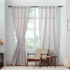grey and white chevron curtains teawing co