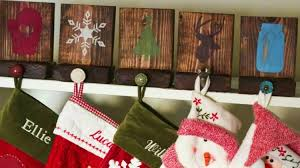 How To Make Rustic DIY Stocking Hangers