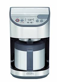 KRUPS KT611 Precision Programmable Thermal Carafe Coffee Maker Machine With Stainless Steel Housing 10