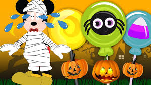 Halloween Hotdog Fingers by Mickey Mouse Clubhouse Halloween Hotdog Dance Finger Family