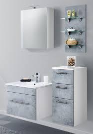 badezimmer kommode hängend viva in design grau badschrank 35 x 75 cm badmöbel hängeschrank