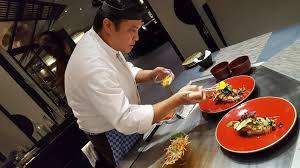 restaurant japonais chef cuisine devant vous kamome le restaurant japonais confidentiel de ève