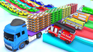 100 Trash Truck Video For Kids Apocalypse Vehicle Smashing A Lot Of Vintage Cars Videos For Kids