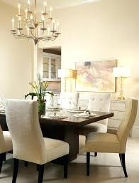 Gold Buffet Table Beige Dining Room Transitional With Lamp Sideboard Setting Leaf