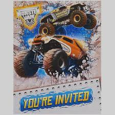 Elegant Monster Truck Birthday Invitations Jam 3D BirthdayExpress ... Monster Truck Cupcakes Jess Bakes Monster Jam Truck Party Complete Racing Editable Truck Printables Invitation Birthday Cakes Decoration Ideas Little Blaze And The Machines Edible Cake Topper Image Printable Custom Flag Cupcake Toppers 700 Via Images M To S The Monkey Tree 24 Jam Rings Cake Birthday Party Favors Pinjennifer Matcham On Pinterest Trucks In 12 Personalized Cupcake Toppers Grace Giggles Glue
