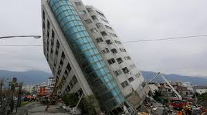 100 Apartments In Taiwan Earthquake Leaves Tall Building On Dangerous Lean