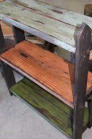 One More Project Made From Swing Set Wood Can You Handle It This Is A Fun Little Shelf With Picket Fence Sides
