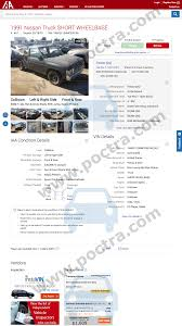 100 1991 Nissan Truck 1N6SD11S6MC335106 Price History Poctracom