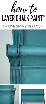 How To Get The Worn Turquoise Finish Refinished Furniture Makeover Painting