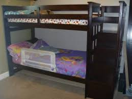 allentown twin over twin bunk bed espresso walmart com