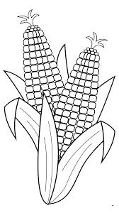 corn cartoon clipart corn clipart black and white