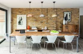 Void Lighting Fixture Over The Dining Table