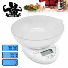 white kitchen scales for sale ebay