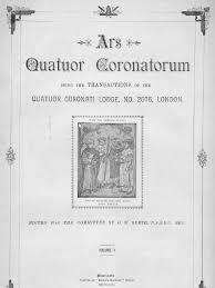 Ars Quatuor Coronatorum Volume 10 1897